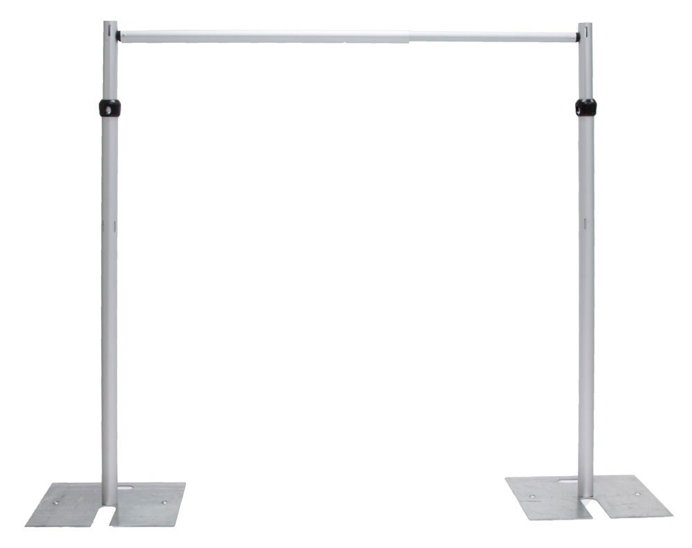 7ft x 10 ft stainless steel wedding backdrop stand backdrop for Un stand