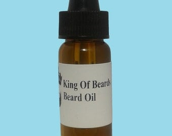 10ml Organic Beard Oil - 60 flavours - shaving kit mustache ** UK DE BLADES **
