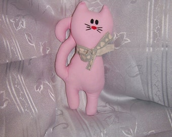 pink little cat toy