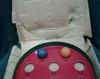 Antique American Roll Game