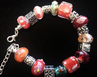 RED LAMPWORK   A