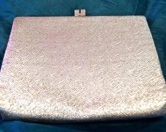 Vintage Silver Handbag from 1960s