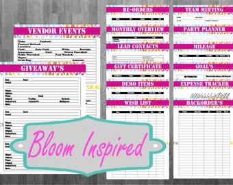 Direct Sales Printable Planner sheets Option 2