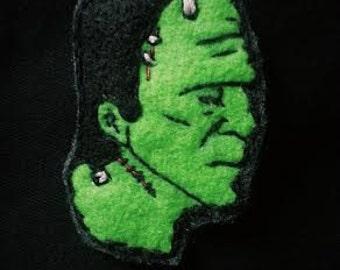 Frankenstein's Monster Brooch/Pin