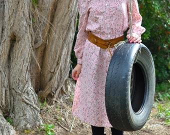 SALE Vintage dress, hippie folk ......refuced