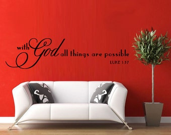 Scripture Wall Decal Etsy - Locations where sell wall decals