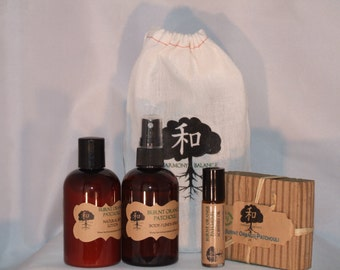 Scented Bath & Body Gift Set (All Natural)