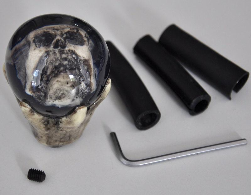 Claw Skull bone shift gear custom knob rat hot rod universal