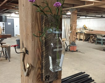 Reclaimed wall vase