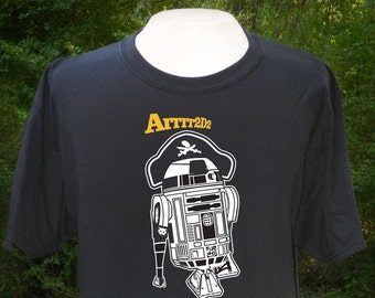 Arrr2-D2 T-shirt, Star Wars, Pirate