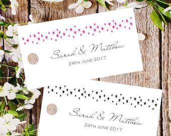 Wedding Gift Bag Thank You Cards : wedding favor tags personalized gift tags thank you tags favor bag tag ...