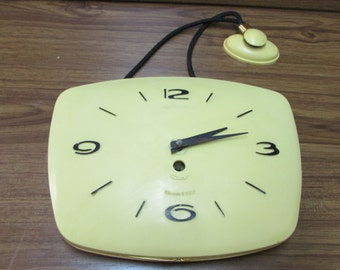 Vintage Russian Wall Clock Mayak,  Made in The USSR, Unique Collections, Gift Idea, 1965s