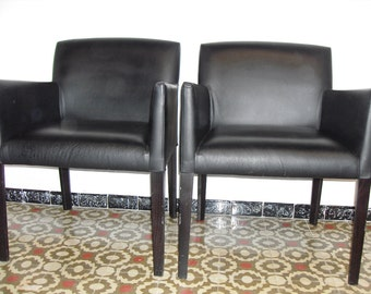 armchairs leather Andreu World