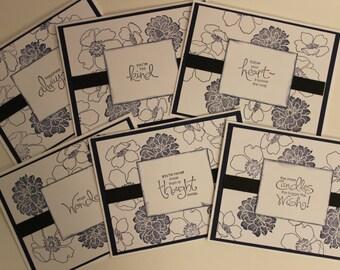 Handmade Note Card Set