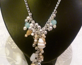 Seaside Cluster Necklace