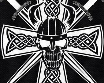Celtic Skull Patch
