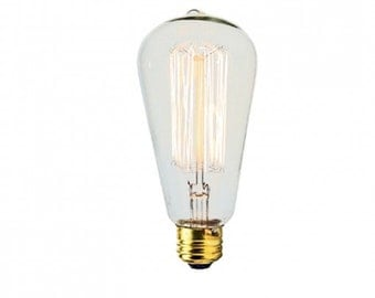60 Watt - Four Pack Vintage Style Edison Bulbs