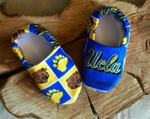 Kiddo Kicks // Baby Booties in UCLA Bruins
