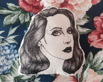 Handmade Lana Del Rey Plushie