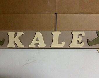Wooden Name Decor