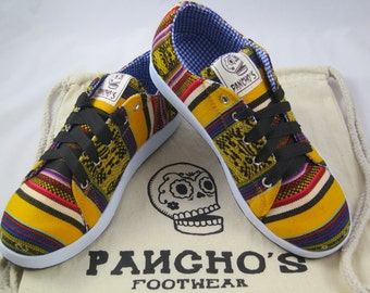 Pancho's Sunshine Yellow Low Top Sneakers