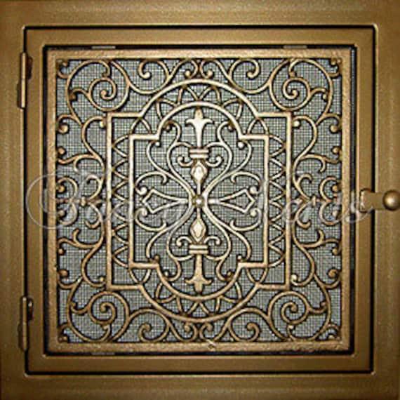 Decorative Cast Iron Vent Cover 20 X 20 Donici