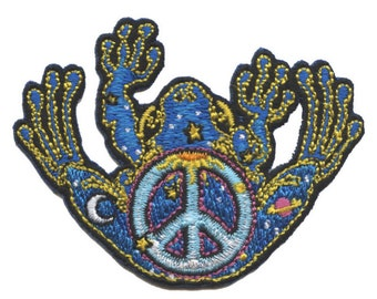 P089 - Peace Frog Patch