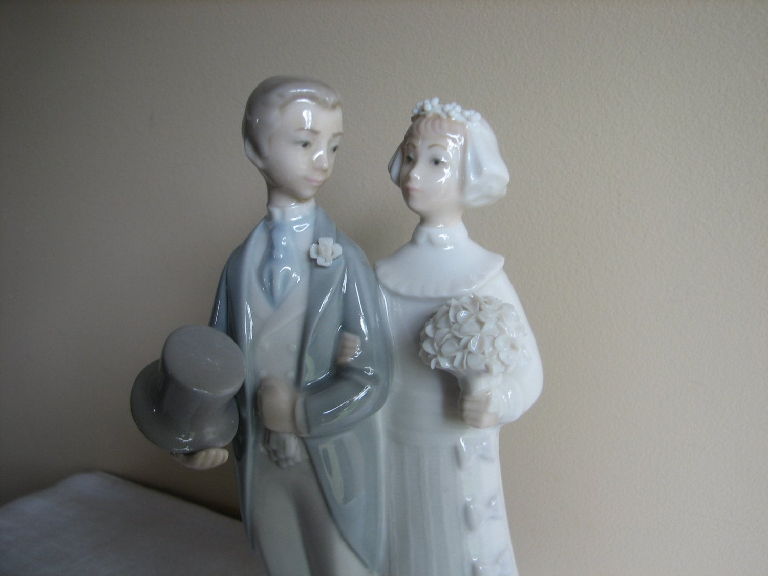 Lladro 4808 Retired Wedding Figurines Bride And Groom Wedding