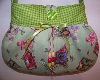 Handbag Girls Purse, Shoulder Bag, Handmade Handbag