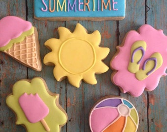 Sweet Summertime Sugar Cookie Set