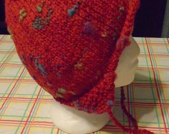 Woman's ear flap hat