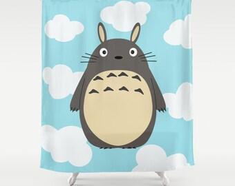 Totoro Shower / Totoro Shower curtain