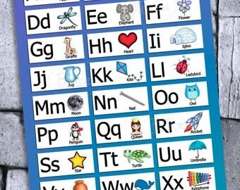 Alphabet Chart Digital File