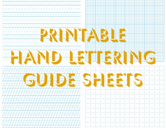 Hand Lettering Worksheets | Free Printable Math Worksheets - Mibb ...