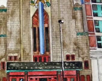 Denver Watercolors Mayan