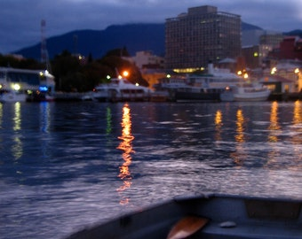 Hobart Waterfront - photo print by Tilley