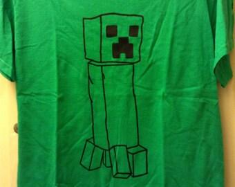 Very Cool Minecraft Robot T-Shirt