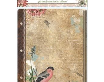 Bo Bunny-Garden Journal Mini Album