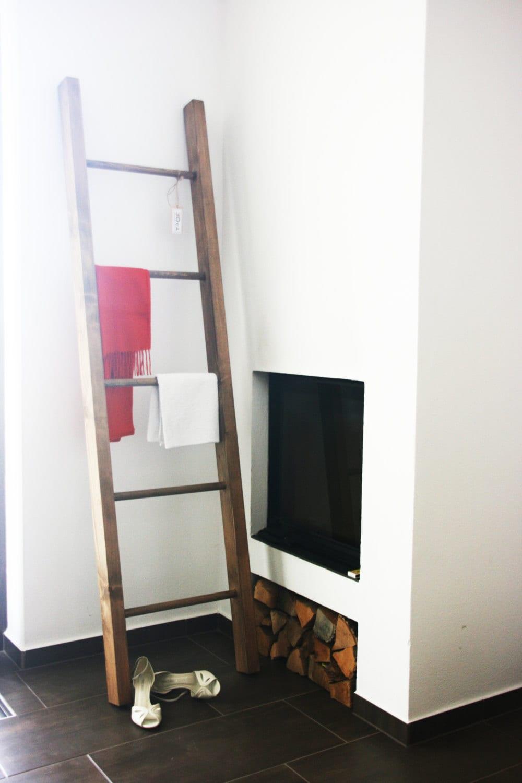 Decorative ladder / Shelf ladder / Interior ladder