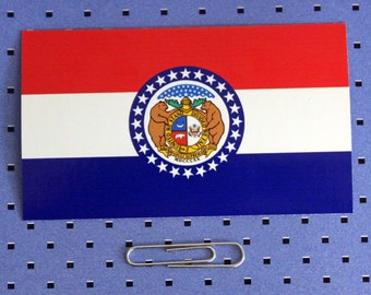 Missouri State Flag Sticker