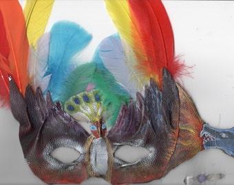 Custom Masquerade Mask