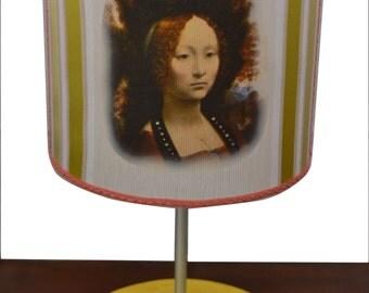 "Handmade lampshade ""Ginevra De Benci"""