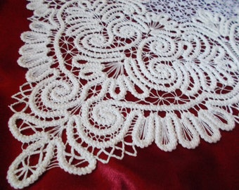 doily crocheted
