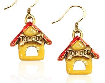 Dog House Earrings
