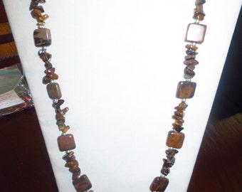 Brown/Tan Necklace