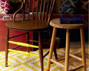 Nirvana Yellow Area Rug