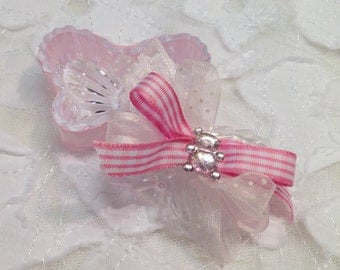 pink butterfly favors baby shower favors baby girl shower party favors
