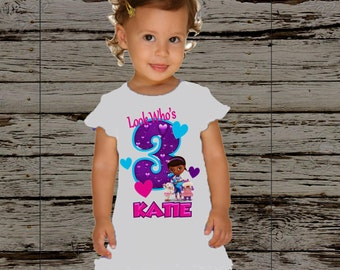 Doc McStuffins Birthday Dress- Doc McStuffins Birthday Outfit