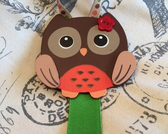 Owl Hair Bow Holder/ girls hair bow holder/ hair bow holder/ hair clip holder/ hair clip orangizer