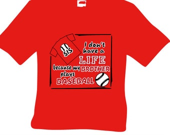 I don't have a life tee